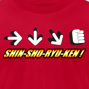Shin Sho Ryu Ken! T-Shirts - Men's T-Shirt by American Apparel