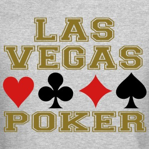 Las Vegas poker cards Long Sleeve Shirts - Crewneck Sweatshirt