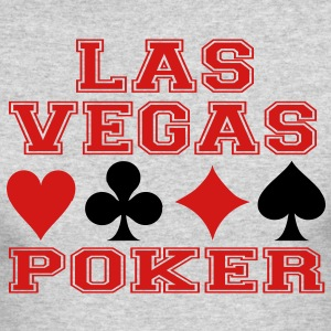 Las Vegas poker cards Long Sleeve Shirts - Men's Long Sleeve T-Shirt by Next Level