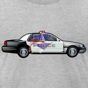 Police - Men's T-Shirt by American Apparel