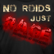 Design ~ No Roids- Red Tshirt