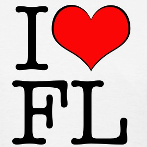 Women's I love Florida - Women's T-Shirt