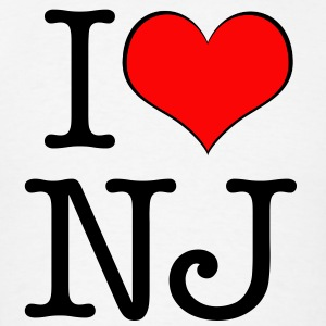 Men's I love New Jersey - Men's T-Shirt