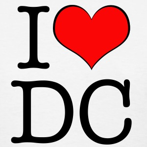 Women's I love DC - Women's T-Shirt