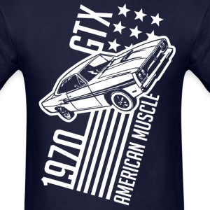 1970 Plymouth GTX stars and stripes - Men's T-Shirt