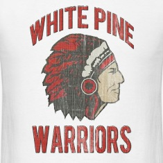 White Pine Warriors Washed T-Shirts