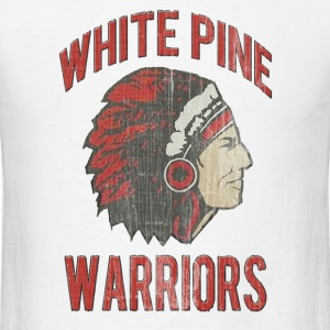 White Pine Warriors Washed T-Shirts - Men's T-Shirt