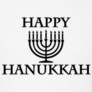 Happy Hanukkah T-Shirts - Men's T-Shirt