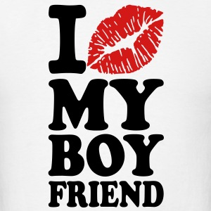 I love my boyfriend T-Shirts - Men's T-Shirt