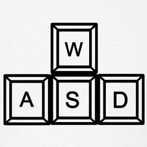 WASD Gaming T-Shirts - Men's T-Shirt