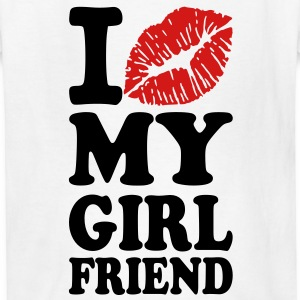 I love my girlfriend Kids' Shirts - Kids' T-Shirt