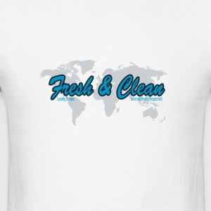 Fresh & Clean Logo Tee (pnthrs) - Men's T-Shirt