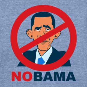 nObama - Unisex Tri-Blend T-Shirt by American Apparel