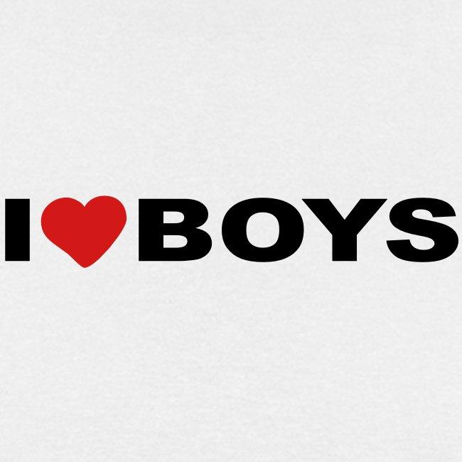 I love boys - Tee