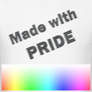 Made With Pride - Men's T-Shirt