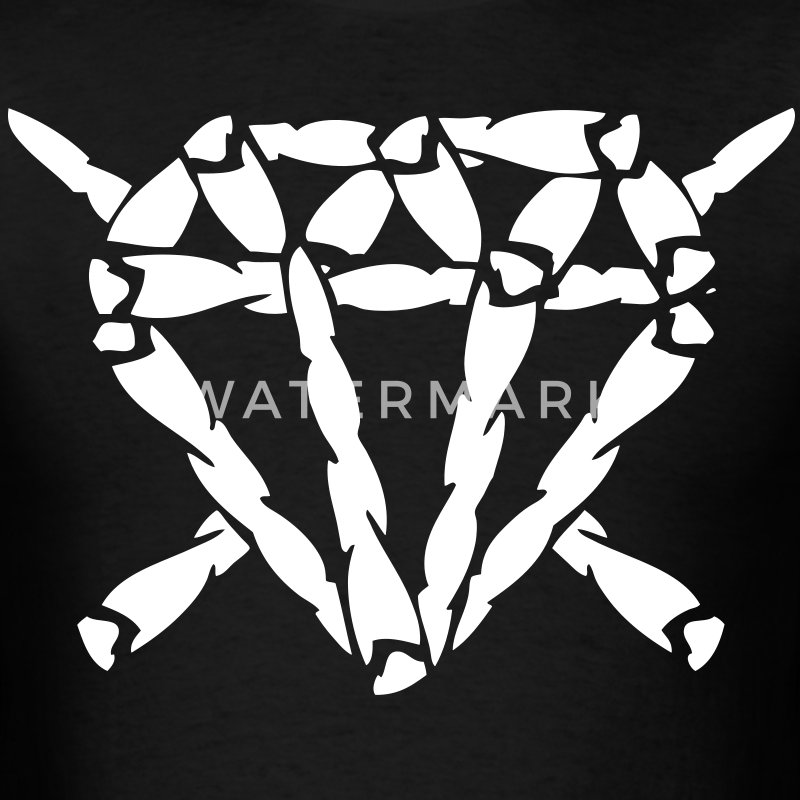 Blunt Diamond T-Shirts - stayflyclothing.com - Men's T-Shirt
