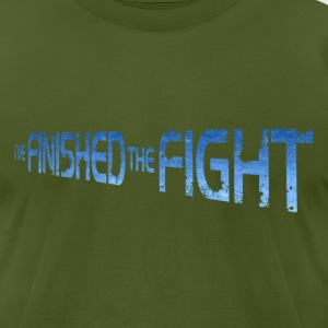 Finished The Fight T-Shirts - Men's T-Shirt by American Apparel