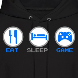 Eat Sleep Game Hoodies - Men's Hoodie