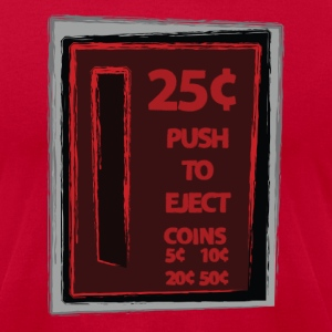 25c Push To Eject - Men's T-Shirt by American Apparel