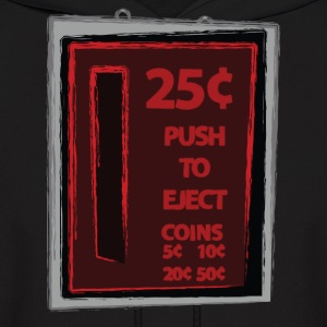 25c Push To Eject - Men's Hoodie