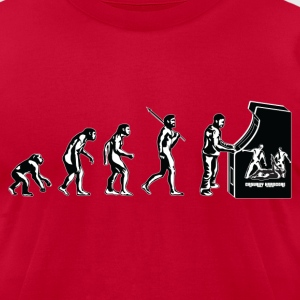 Gamer Evolution - Men's T-Shirt by American Apparel