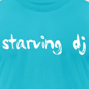 Starving DJ - Men's T-Shirt by American Apparel