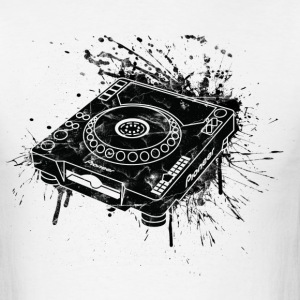 CDJ Graffiti - Men's T-Shirt