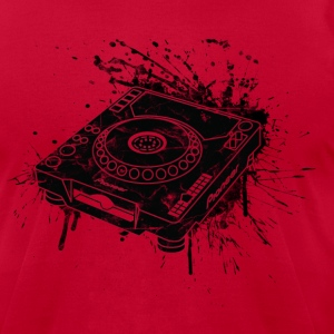 CDJ Graffiti - Men's T-Shirt by American Apparel