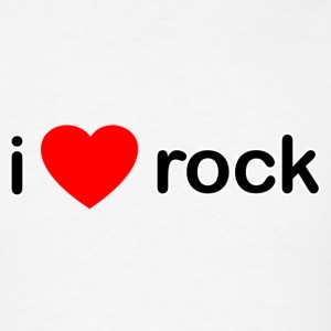 I Love Rock - Men's T-Shirt