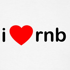 I Love RNB - Men's T-Shirt