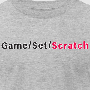 Game Set Scratch - Men's T-Shirt by American Apparel