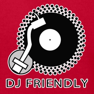 DJ Friendly - Men's T-Shirt by American Apparel