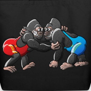 Olympic Wrestling Gorillas Bags  - Eco-Friendly Cotton Tote