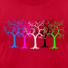 colored forest - digital T-Shirts