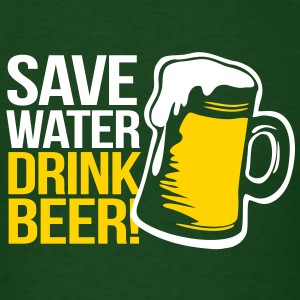 Save Water - Drink Beer - Men's T-Shirt