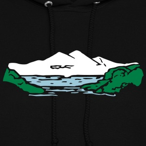 Mountain lake Hoodies - Women's Hoodie