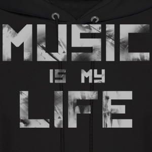 Music Is My Life - Men's Hoodie