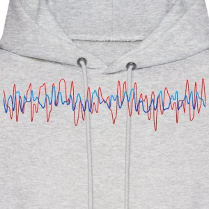 Sound Waves - Men's Hoodie