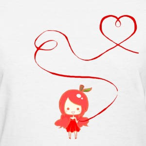 Pomme Red String of Fate  - Women's T-Shirt