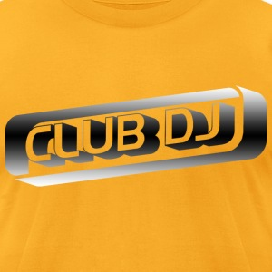 Club DJ - Men's T-Shirt by American Apparel