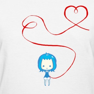 Mirtillo Red String of Fate - Women's T-Shirt