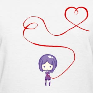 Jadu Red String of Fate - Women's T-Shirt