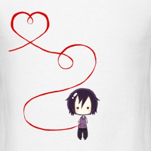 Plate Red String of Fate - Men's T-Shirt