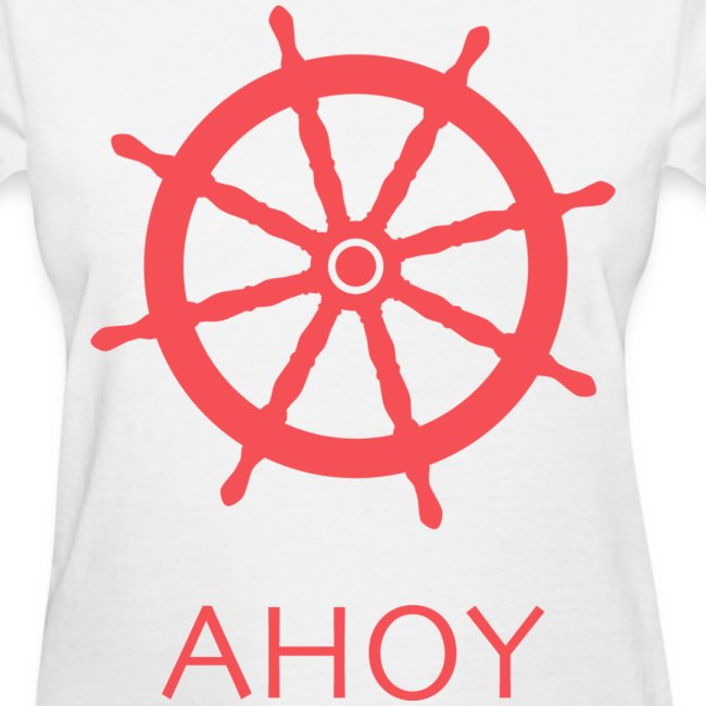Ahoy T-Shirt (Red)