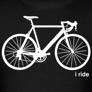 I Ride T-Shirt - Men's T-Shirt