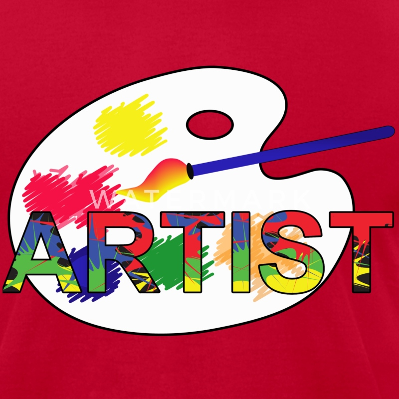 Artist - Men's T-Shirt by American Apparel
