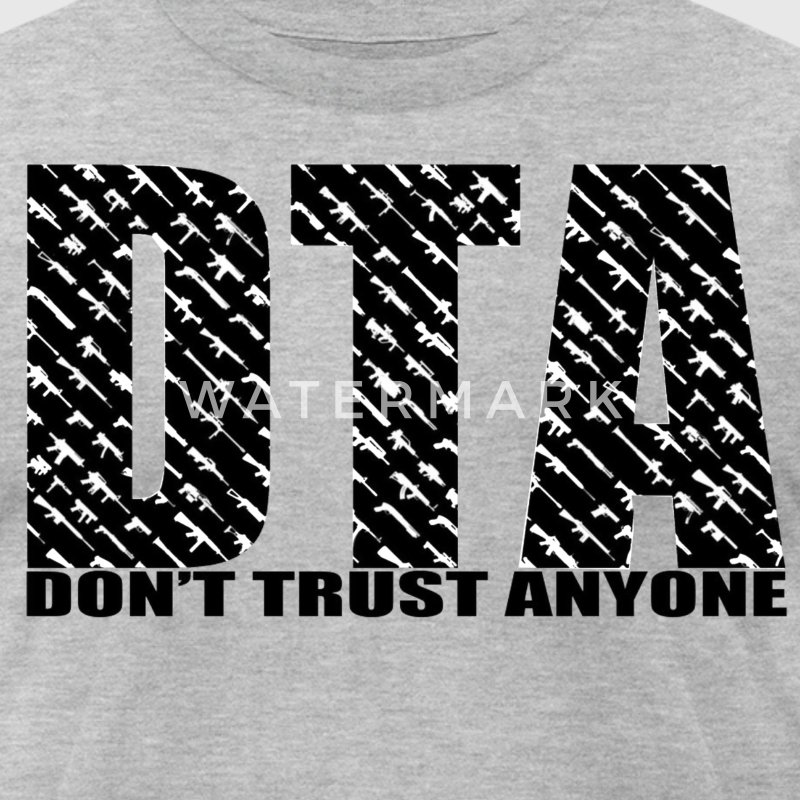 Don't Trust Anyone Tee - Men's T-Shirt by American Apparel