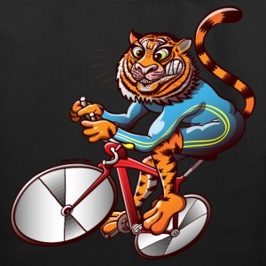 Olympic Cycling Tiger Bags  - Eco-Friendly Cotton Tote