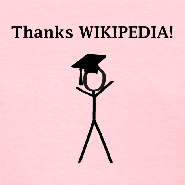 Thanks Wikipedia Graduation Shirt
