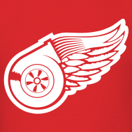 Design ~ Red Wings Turbo Mens Tee